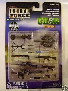 BBI 1 18 Elite Force 3 75 Gi Joe Weapons Pack E