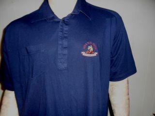 Open Oakmont Polo Shirt Golf Blue Embroidery XXL 2XL Ernie ELS