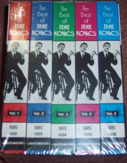 The Best of Ernie Kovacs Collectors Edition VHS 1991 5 Tape Set