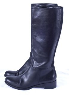 Banana Republic Equestrian Horse Riding Black Tall Womens Boots Sz 6 5