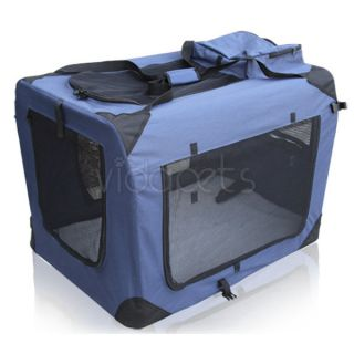 Duty Travel Soft Foldable Dog Cage Crate Kennel Carrier House