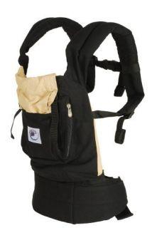 LN ERGObaby Original Baby Carrier Black Camel Backpack Sling