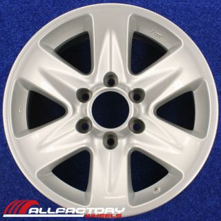 PATHFINDER 17 2003 FACTORY OEM WHEELS RIMS SET 4 FOUR SILVER 62410