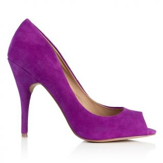 Steven by Steve Madden Justise Leather Open Toe Pump