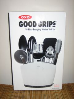 OXO Good Grips 10 Piece Everyday Kitchen Stainless Steel Set New