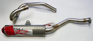 Big Gun EVO Full Exhaust Pipe Muffler Yamaha Raptor 350 05 06 07 08 09