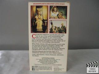 VHS Charlton Heston Hildegard Neil Eric Porter 042995759136