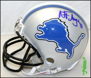 NICK FAIRLEY & TITUS YOUNG SIGNED AUTO DETROIT LIONS MINI FOOTBALL
