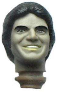 MOTORCYCLE RIDING 8 mego CHiPs sports figure ERIK ESTRADA PONCH HEAD