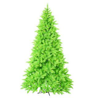 Ashley Pre Lit Christmas Tree, 7.5ft   Lime Green