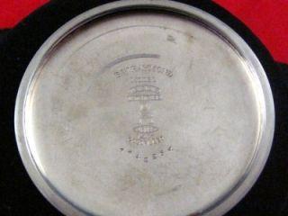Vintage 16S Elgin B w Raymond Gold Flash for U s Army