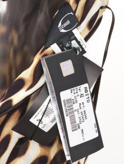 New Roberto Cavalli Evening Leopard Dress Size 42 US 8