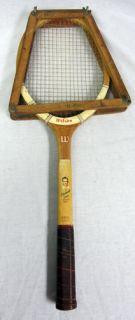 Wilson Ellsworth Vines Signature Model Vintage Tennis Racket 4 3 4