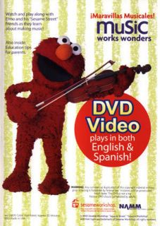 Elmo Music Works Wonders New DVD Maravillas Musicales