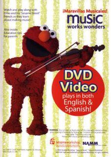 Elmo Music Works Wonders New DVD Maravillas Musicales