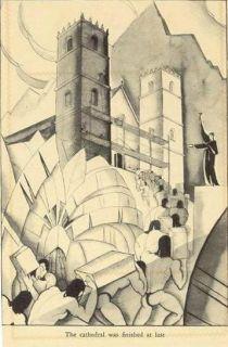 Manga Reva Robert Lee Eskridge Book with Eskridge Woodblock Art