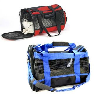 Ethical Dog Pet Travel Gear Carrier Blue Large New