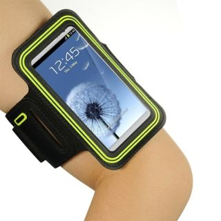 Neon Green Jogging Workout Sport Armband Case LG Optimus ...