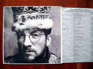 ELVIS COSTELLO   KING OF AMERICA   US DJ COPY   LP 1986