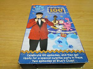 Nick Jr Blues Clues 100th Episode Celebration VHS