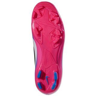 Nike Jr CR7 Mercurial Victory III FG Black White Blue Glow Pink Flash