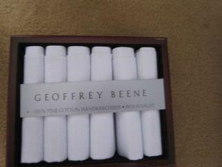 Mens Handkerchiefs Famous Brands White 100 Cotton
