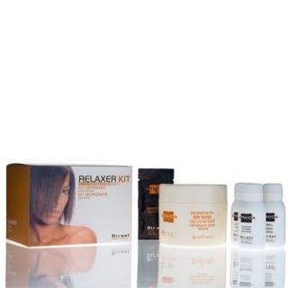 Black Ethnic Hair Straightener Relaxer Kit 5 Products