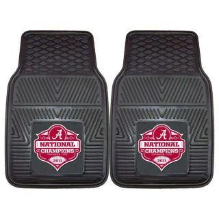 Tide 2011 BCS National Champions 2pc Vinyl Car Front Floor Mats
