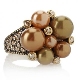 211 172 heidi daus brilliant baubles crystal accented cluster ring