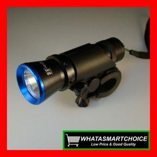 New Blue 17 Watt Bike Bicycle Flashlight Torch Light