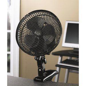 Holmes HACP10B U Oscillating Personal Clip Fan