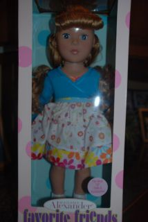 Fling Dance 18 Madame Alexander Doll New Favorite Friends Collection