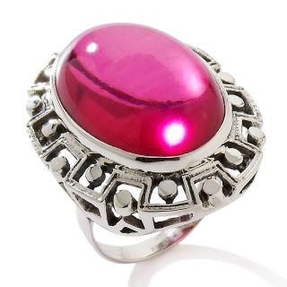 170 114 nicky butler pink quartz triplet sterling silver oval ring