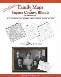 Genealogy Family Maps Cemetery Fayette County Illinois