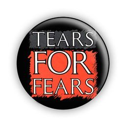 Tears for Fears Logo 1 Pin Button Badge Retro 80s