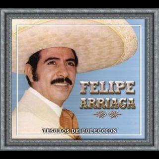 Felipe Arriaga Tesoros de Coleccion 3 CDs 33 Exitos