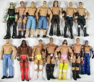 YAC1 WWE Wrestling Mattel Elite Basic Jeff Hardy Zack Ryder Kofi