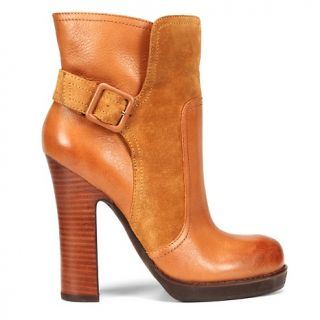 Jessica Simpson Callian Leather Ankle Boot with Buckle
