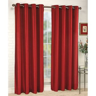 Panel Grommet Faux Silk Curtains Sheer 60x 84 New Design STYLE12