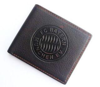 FC Bayern Munich fans Mens genuine Leather Wallet purse Pockets Card