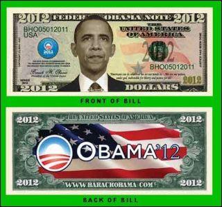 100 Factory Fresh President Barack Obama 2012 Commemorative Dollar