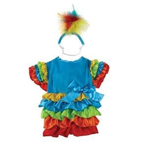 Dog Polly Parrot Bird Halloween Costume Canine Parrott Clothes XS s M