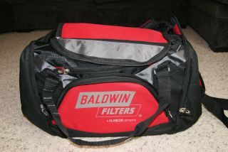 Baldwin Filters Duffle Bag Engine protection hydraulic lube air fuel