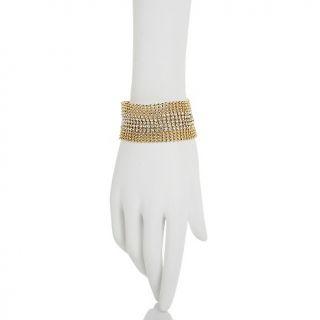 Jewelry Bracelets Chain Justine Simmons Jewelry Clear Crystal
