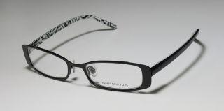 Black Metal Plastic Arms Vision Care Eyeglasses Glasses Frames