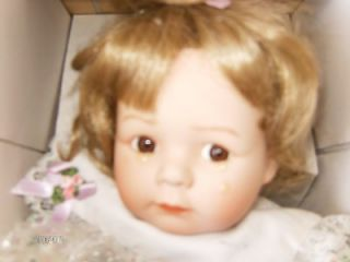 Authentic Ashton Drake Porcelain Doll Felicia Needs A Friend