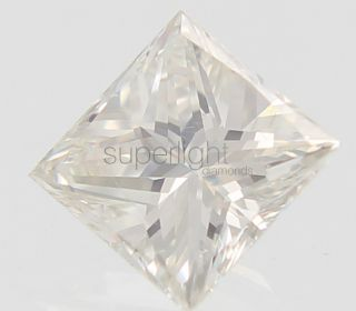 53 CARAT F COLOR VS1 PRINCESS BUY NATURAL LOOSE DIAMOND 4.63X4.65MM