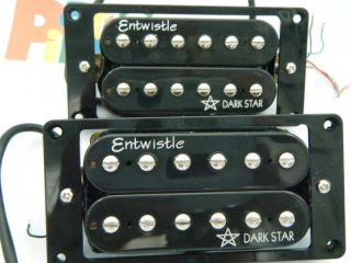 Entwistle Dark Star Guitar Humbucker Pickups N B New