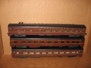 AHM Rivarossi 7 Pennsylvania Railroad Passenger Cars