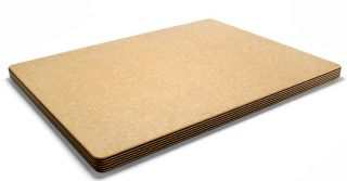 Epicurean 21x16x1 Thick Block Cutting Board Natural